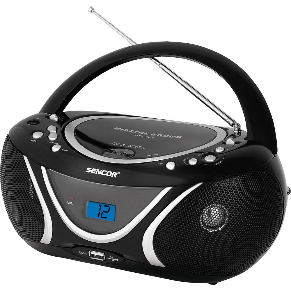 SPT 227 B RADIO S CD / MP3 / USB SENCOR