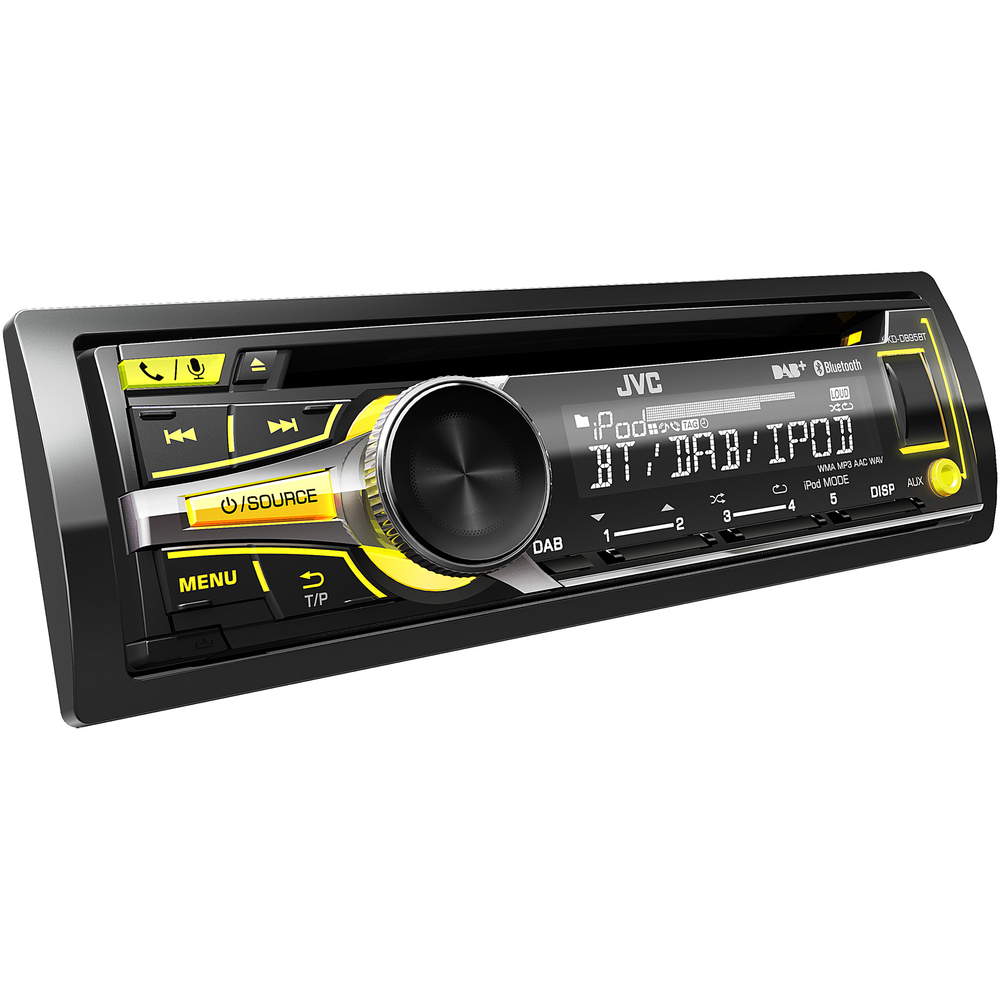 KD DB95BT DAB AUTORÁDIO S CD/MP3/BT JVC
