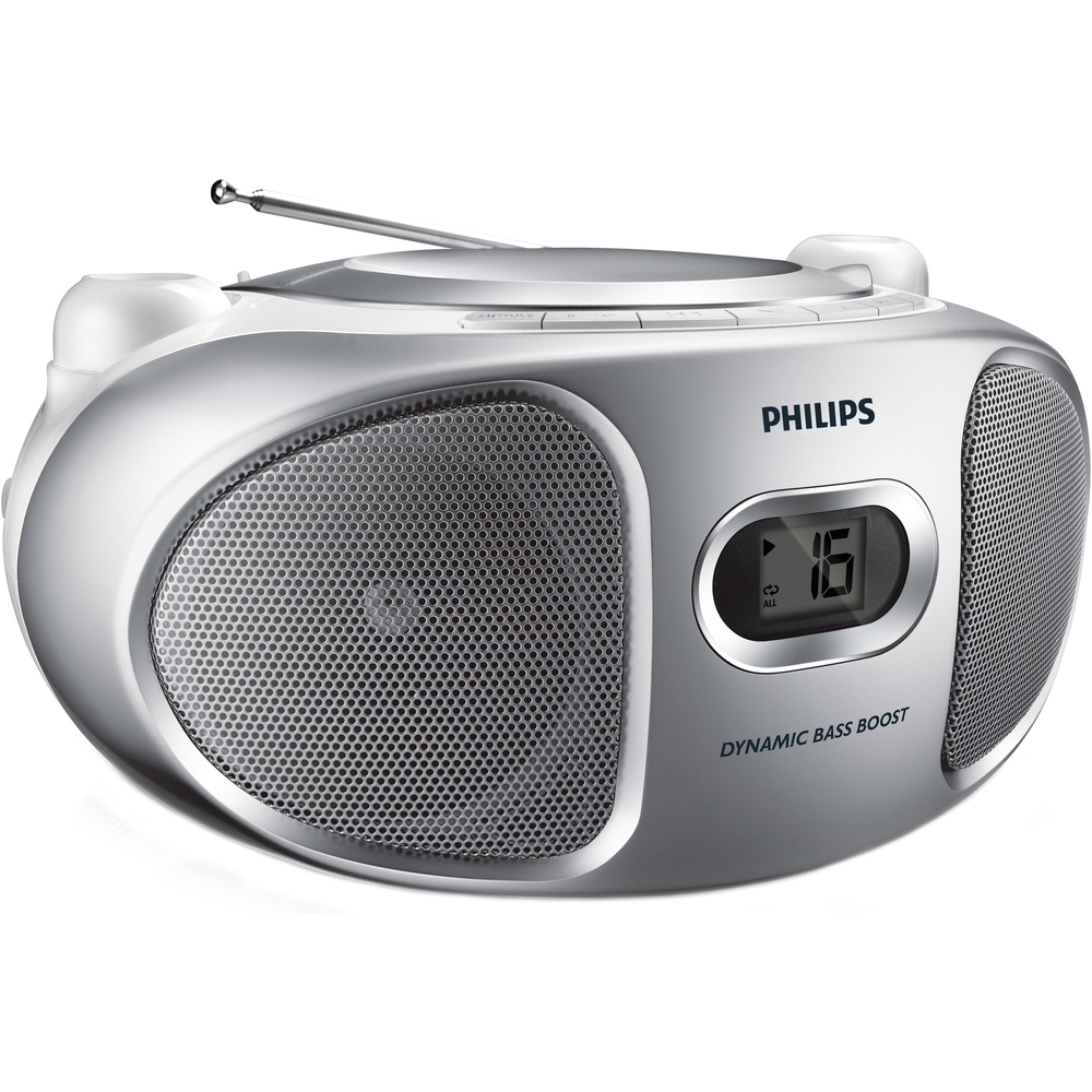 AZ105S/12 PŘENOSNÉ RÁDIO S CD PHILIPS