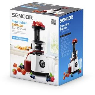 Šnekový odšťavňovač sencor